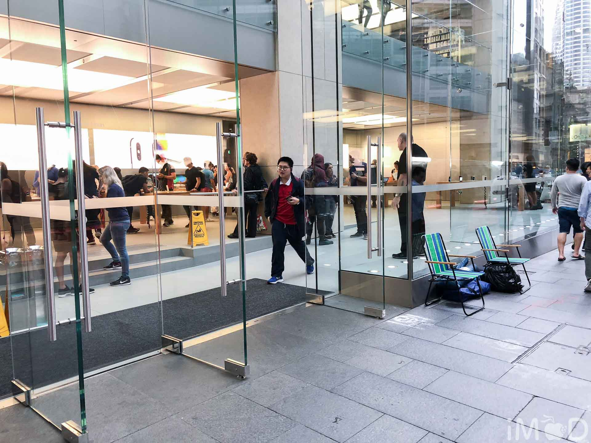 Apple Sydney Day Before Pre Order Iphone X 3744
