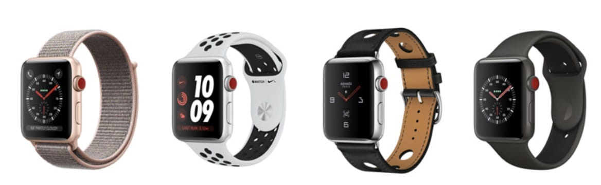 Apple Watch Series 3 Family