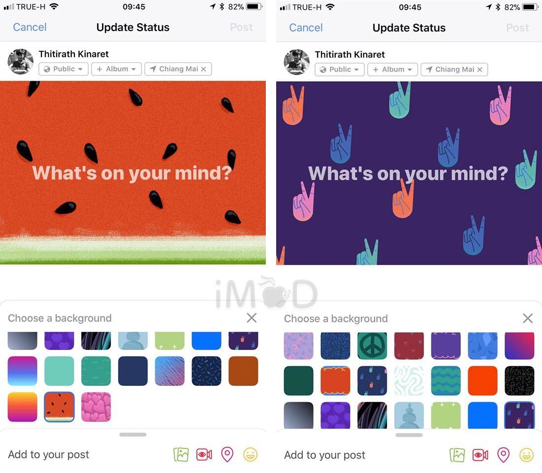 Facebook 146 Background Color 3
