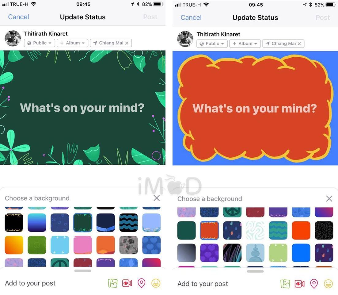 Facebook 146 Background Color 5