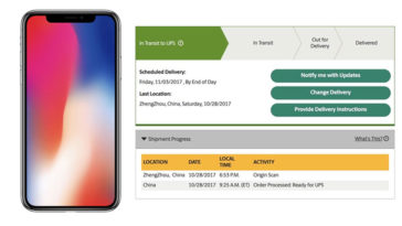 First Iphone X Orders Shipping Out