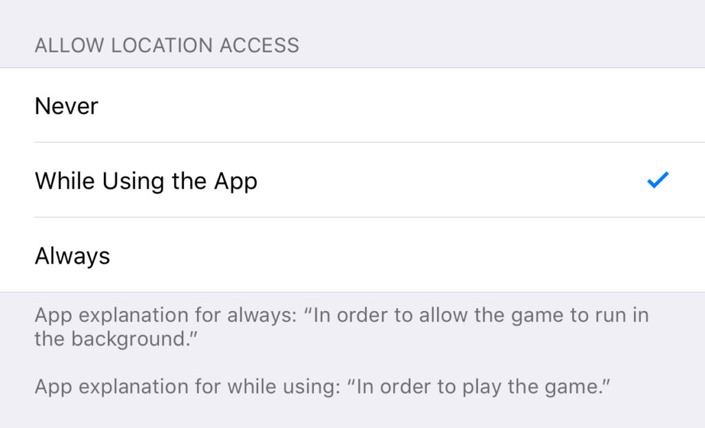 Ios 11 Location Options1