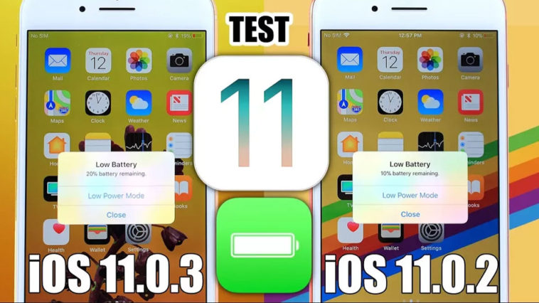 Ios 11 0 2 Vs Ios 11 0 3 Battery Test Cover