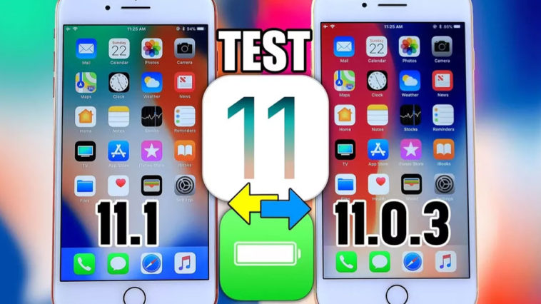 Ios 11 1 Beta 4 Vs Ios 11 0 3 Battery Test
