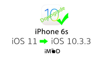 Iphone 6s Still Downgrade Ios 10 3 3