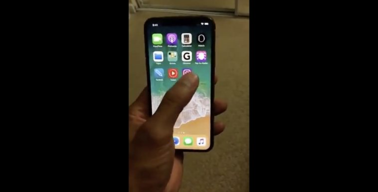 Iphone X Demo Leaked
