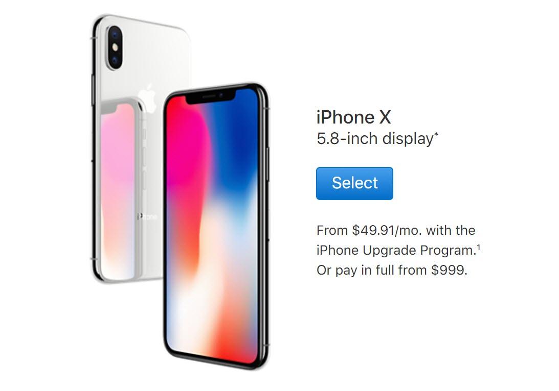 Iphone X Order