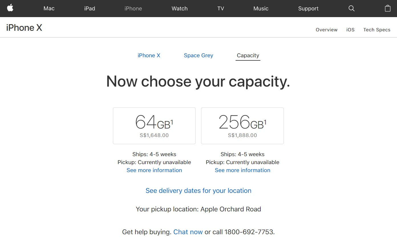 Iphone X Pre Order Ship 4 to 5 Weeks 1