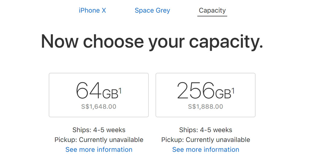 Iphone X Pre Order Ship 4 5 Weeks