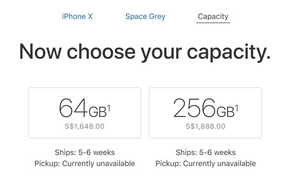 Iphone X Ship 5 To 6 Week 28 Oct 2017 1