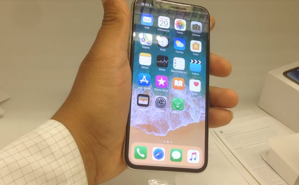 Iphone X Unboxing Maxico Leaks Video 4