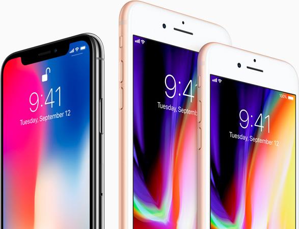 Iphonex Vs Iphone8&8plus