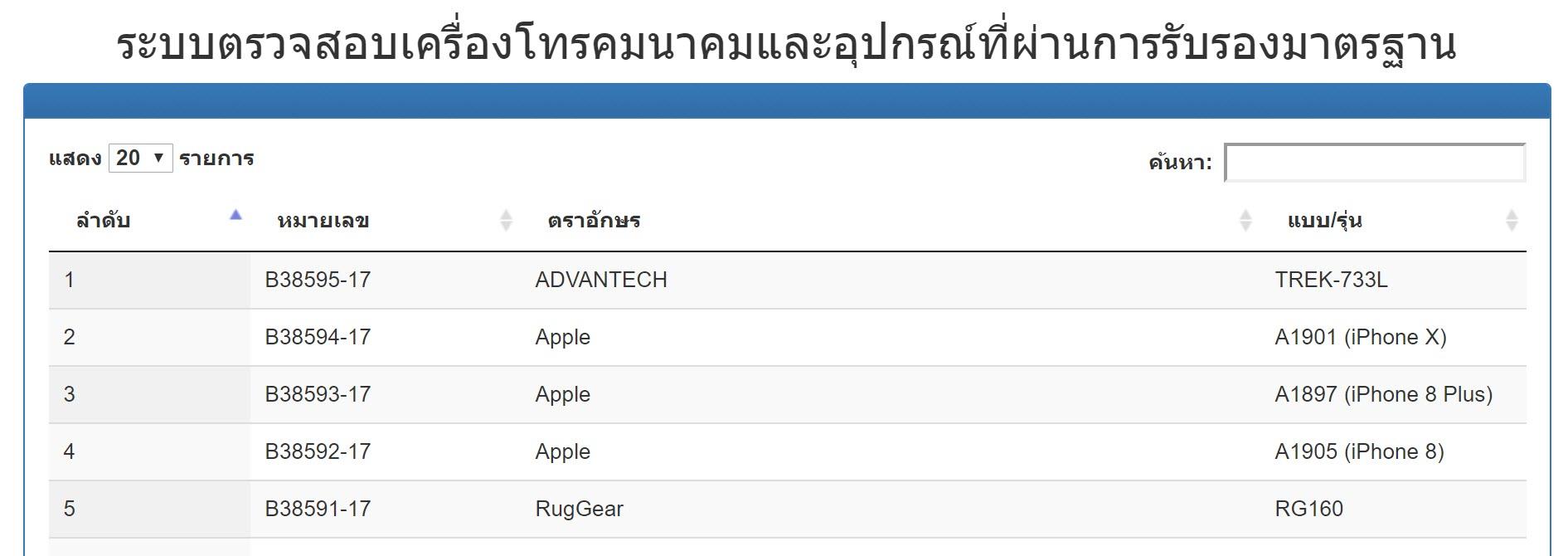 Nbtc Approve Iphone 8 Iphone X 1