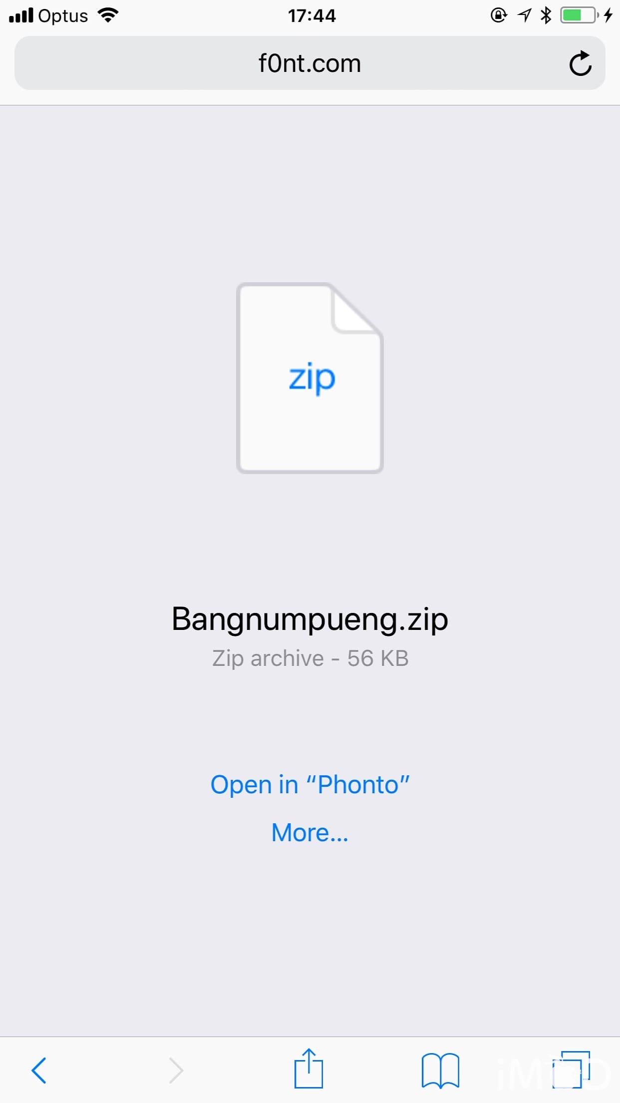 Phonto Install Font 2