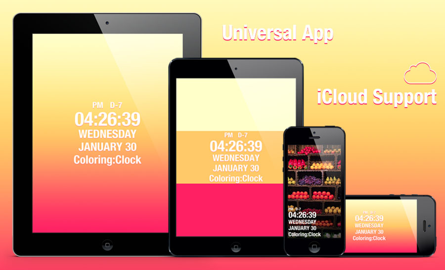 App Coloringclock Cover