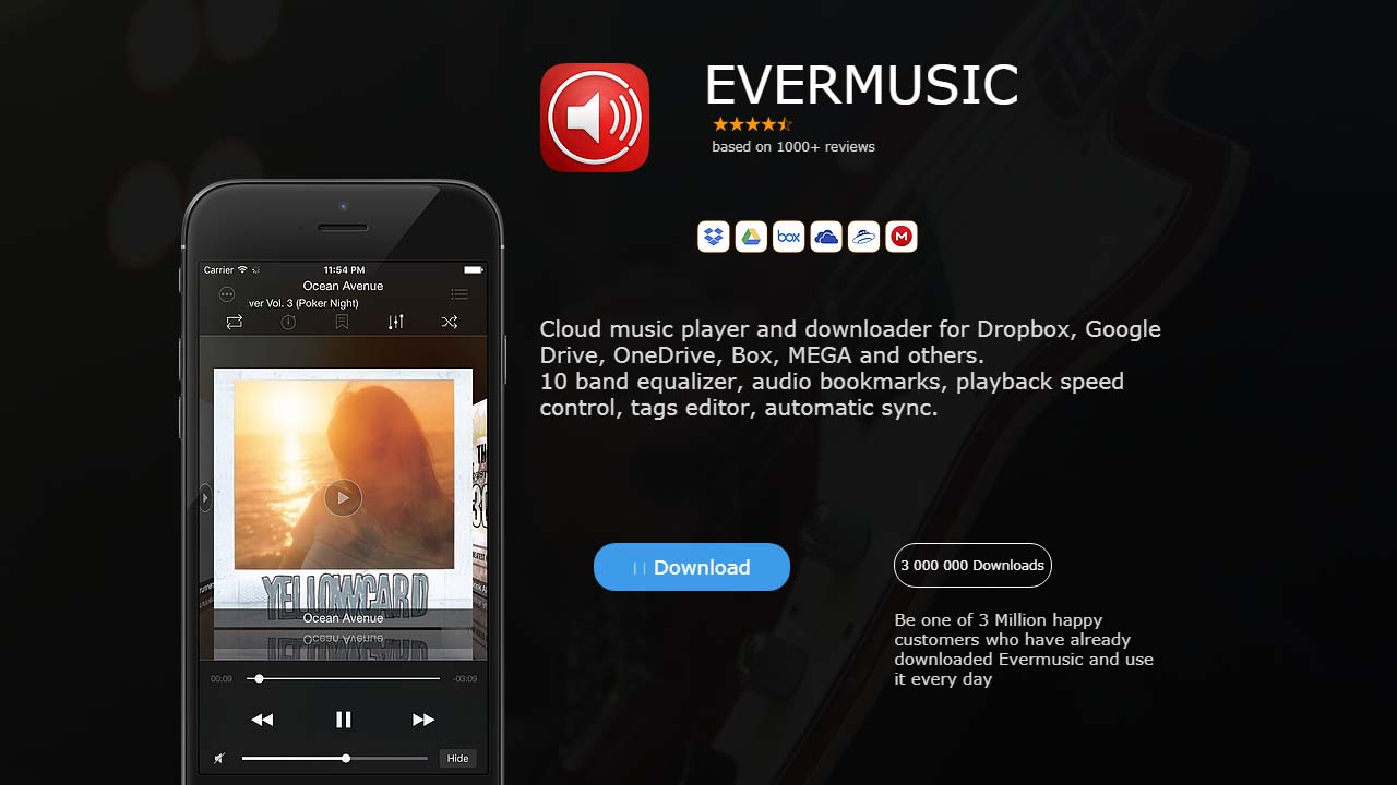 App Evermusicpro Cover