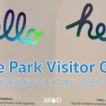 Apple Park Visitor Centre Grand Openning