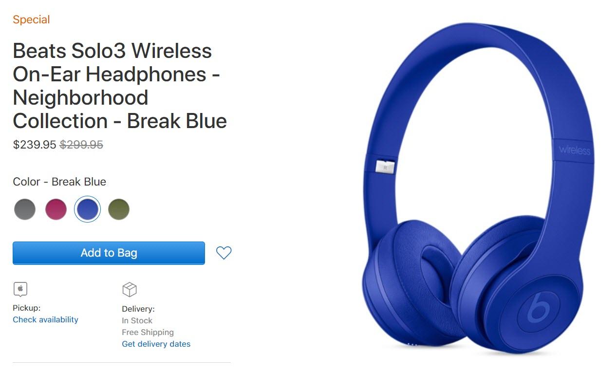 Apple Us Discount Wireless Headphones Nov 2017