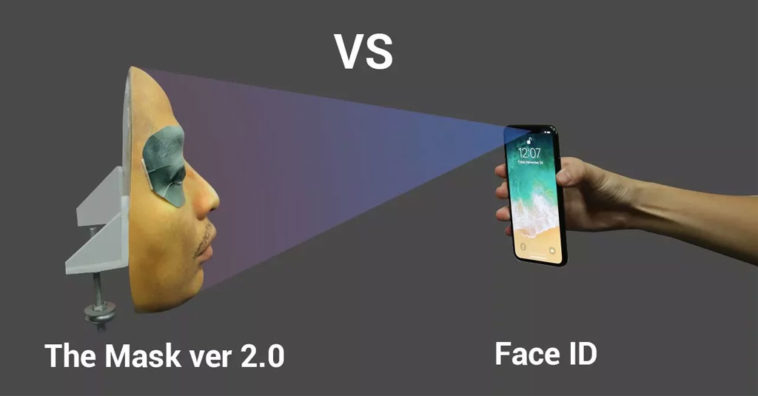 Face Id Tricked With Mask Cover