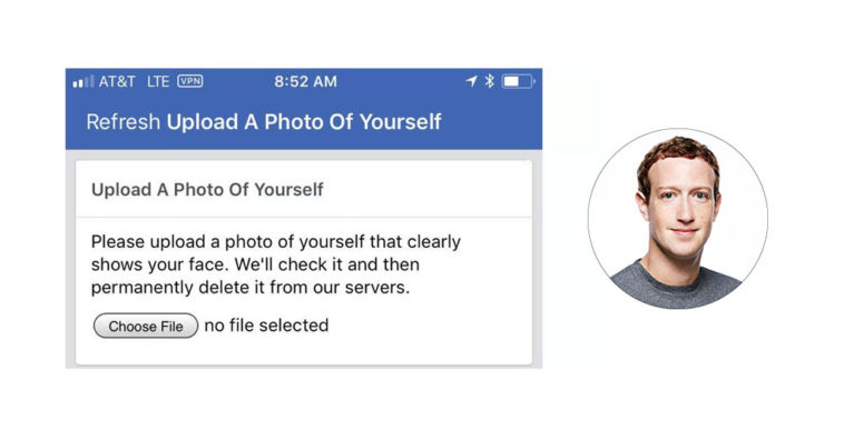 Facebook Face Id Verification Cover