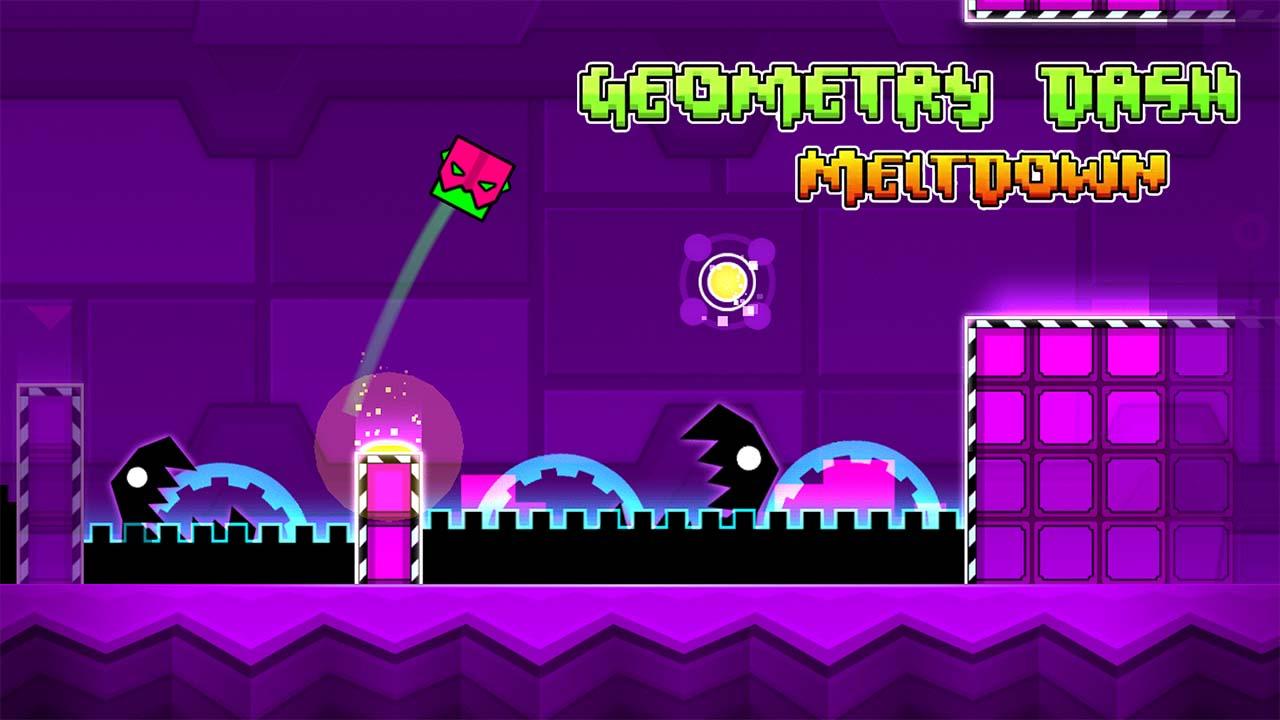 Game Geometrydashmeltdown Cover
