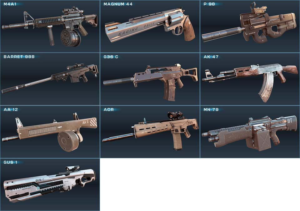 Game Overkill3 Guns
