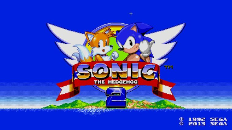 Game Sonicthehedgehog2 Cover