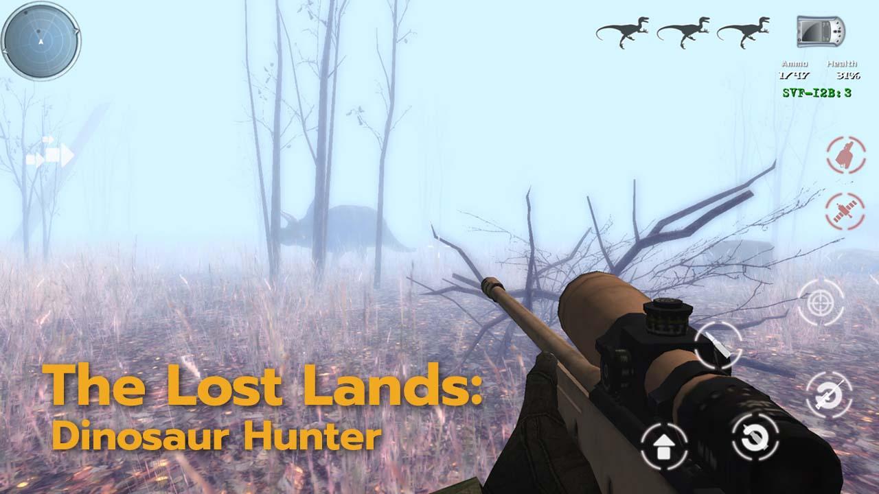 Game Thelostlandsdinosaurhunter Cover