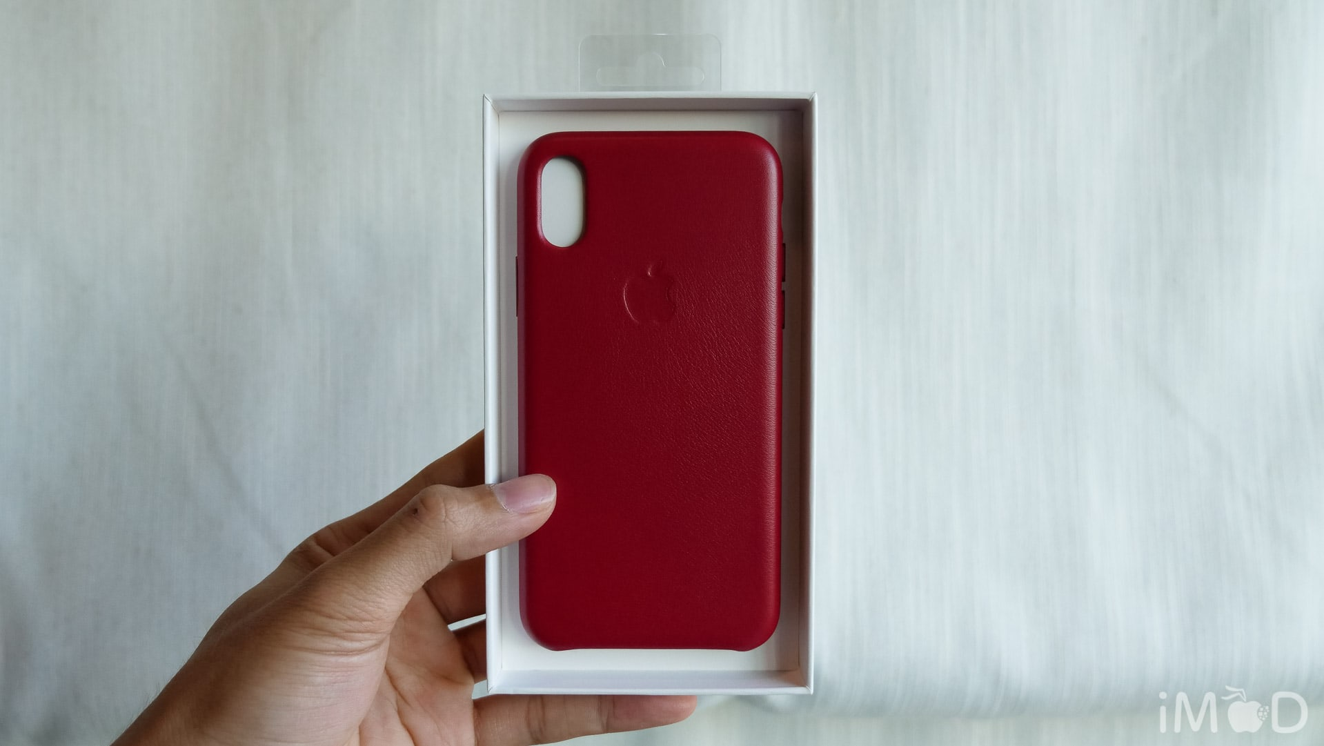 Iphone X Leather Case Product Red 6565