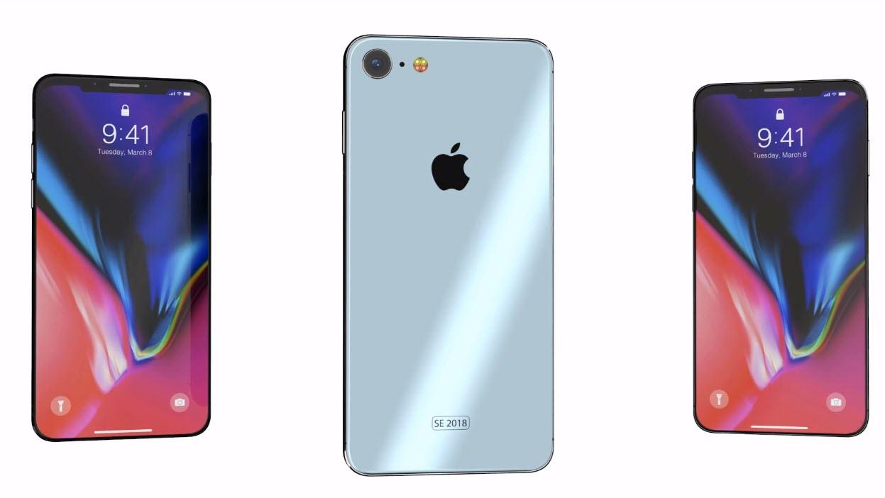 Iphone Se 2 2018 Concept 3