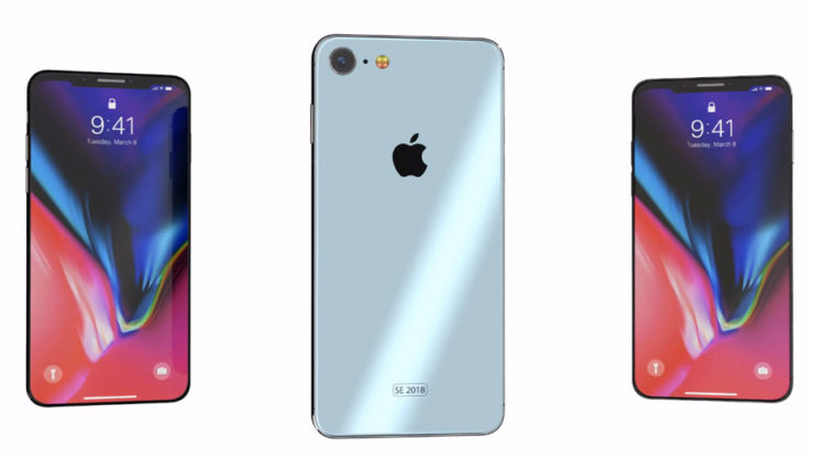 Iphone Se 2 2018 Concept Cover