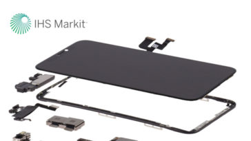 Iphone X Ihs Markit Parts Estimate Costs