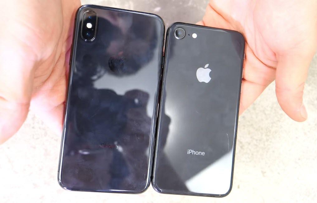 Iphone X Iphone 8 Drop Test 4