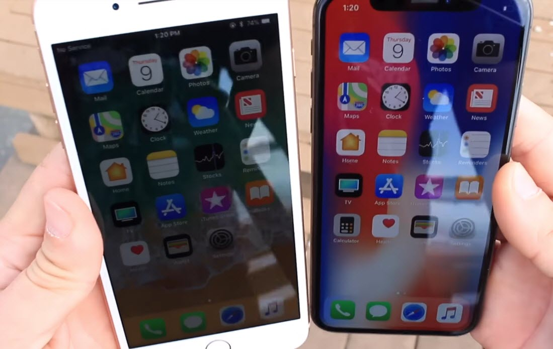 Iphone X Oled Iphone 8 Plus Lcd Screen Comparison 9