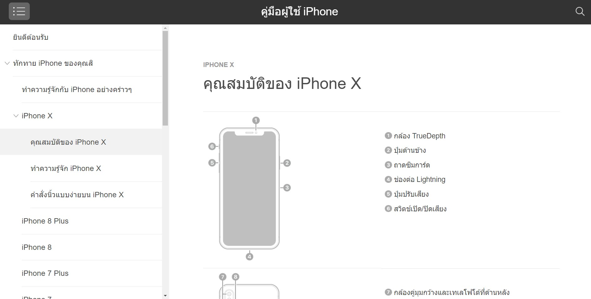 Iphone X User Guide Th 3