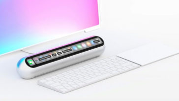 Mac Mini 2018 Oled Concept Cover