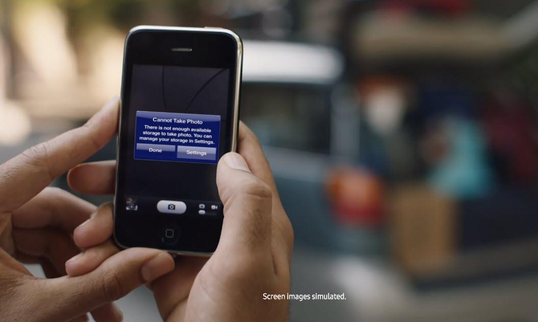 New Samsung Ad Mocks Iphone 1