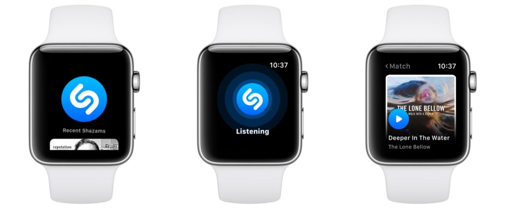 Shazam And Apple Watch Series 3 Gps