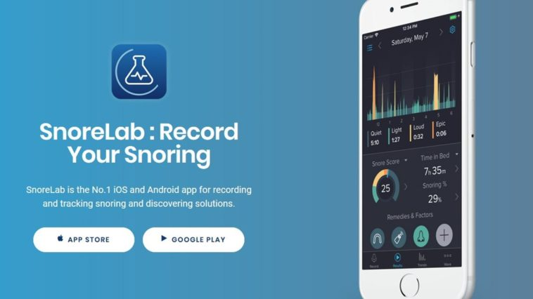 Snorelab Record Your Snoring Cover