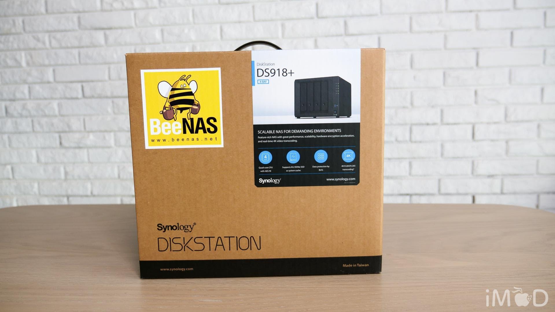 พรีวิว Synology DS918+ NAS ตัวแรงด้วย CPU Quad-core และ RAM 4GB