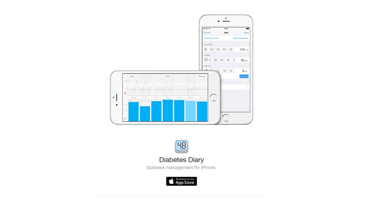App Diabetesdiary Cover