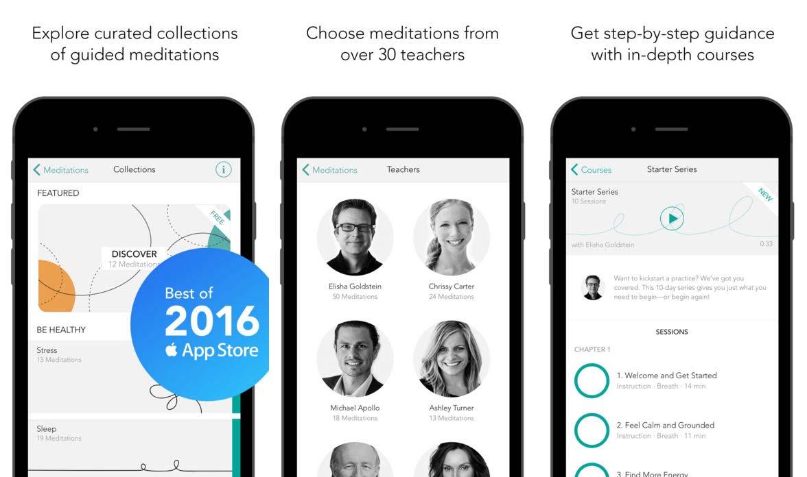 App Meditationstudio Content1