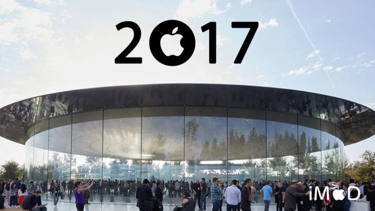 Apple 2017 Timeline