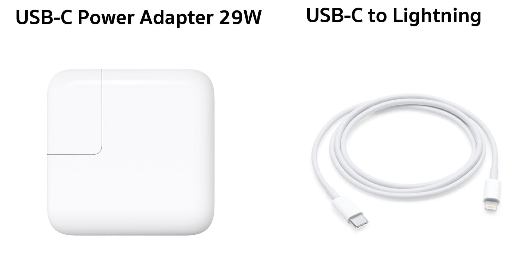 Apple 29w Power Adapter With Usbc To Lightning Cable