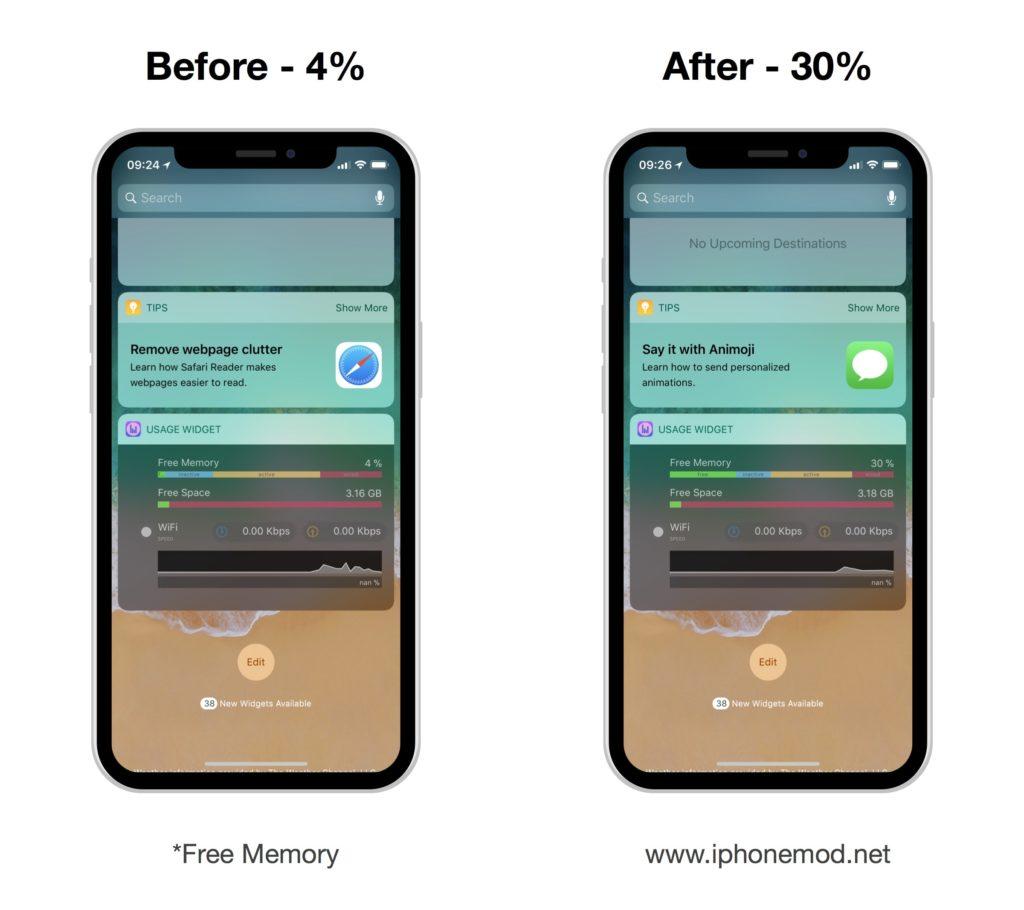 Clear Ram Iphone X 02