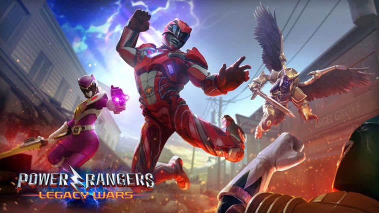 Game Powerrangers Cover