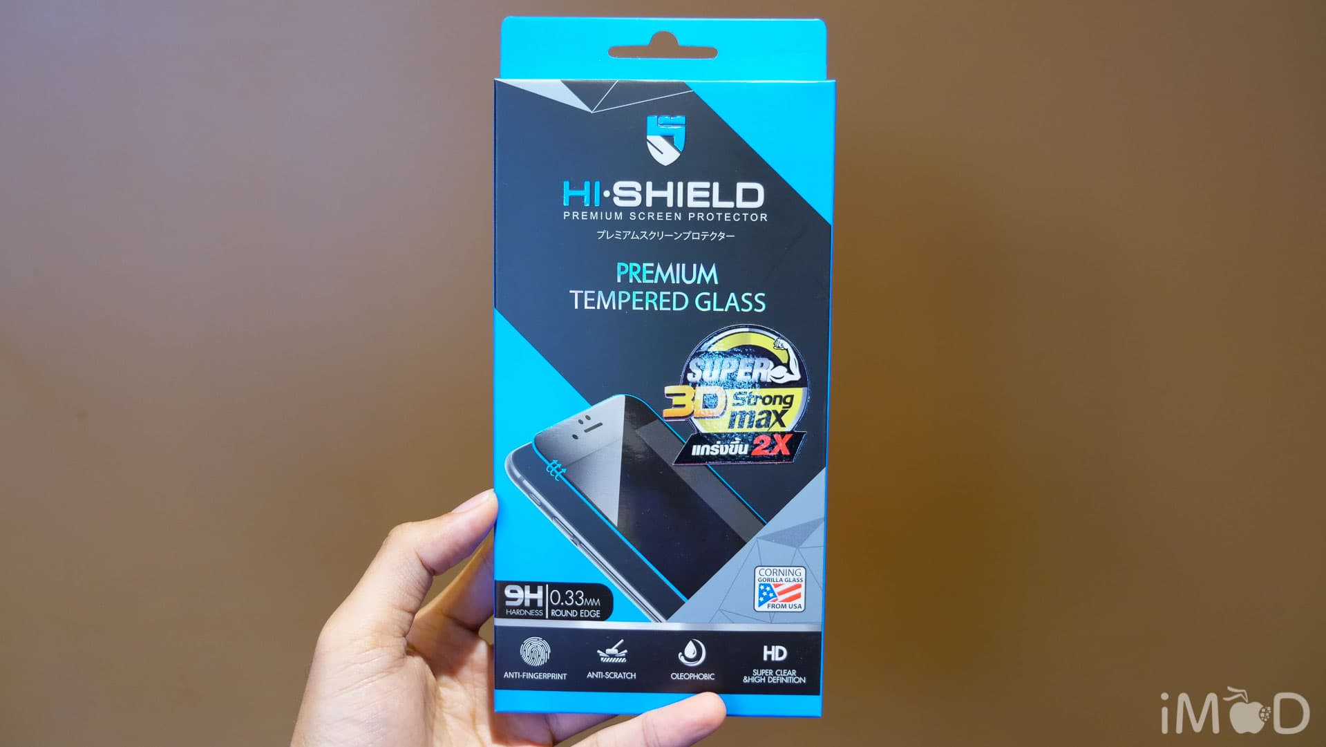 Hi Shield Iphone X 3d Super Strong Max V2 7861
