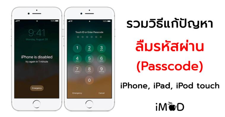 How To Fix Forgot Passcode Iphone Ipad