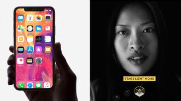 Iphone X Face Id Portrait Lighting Ad.