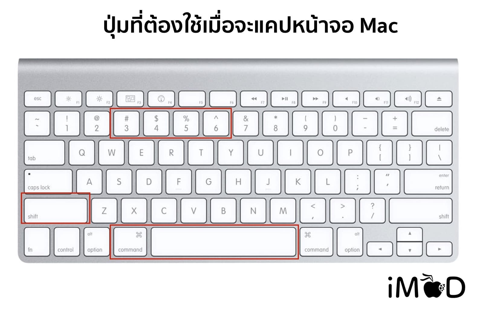 Mac Keyborad Use For Screenshots